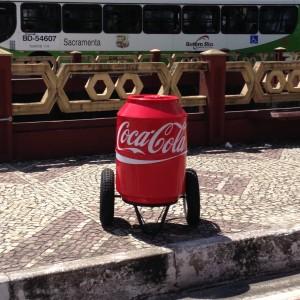 Ação da Coca-Cola